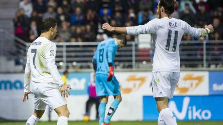 0-2. El Real Madrid supera su mala racha a base de oficio en Ipurúa