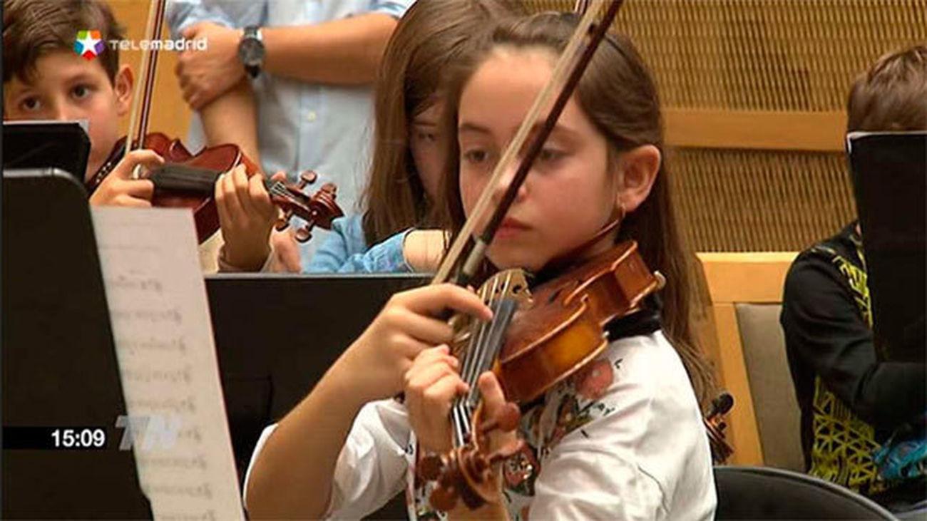 La Orquesta infantil de Madrid debuta en el Auditorio Nacional