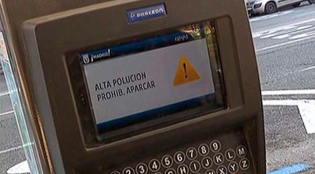 Restricciones de estacionamiento por contaminaci´n
