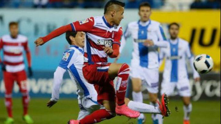 2-1. El Leganés pierde la oportunidad de sentenciar al Granada