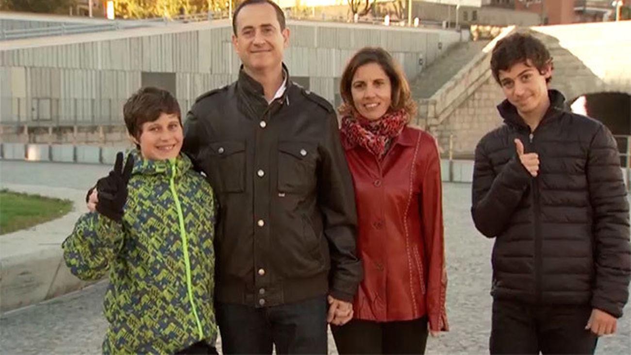 Una familia entera, camino de la San Silvestres