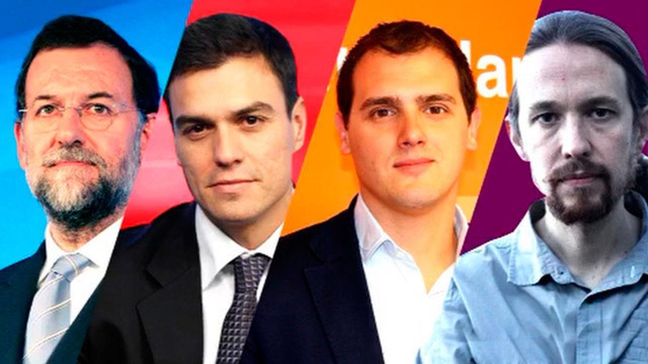 Los partidos abren la campaña de las elecciones más reñidas de la democracia