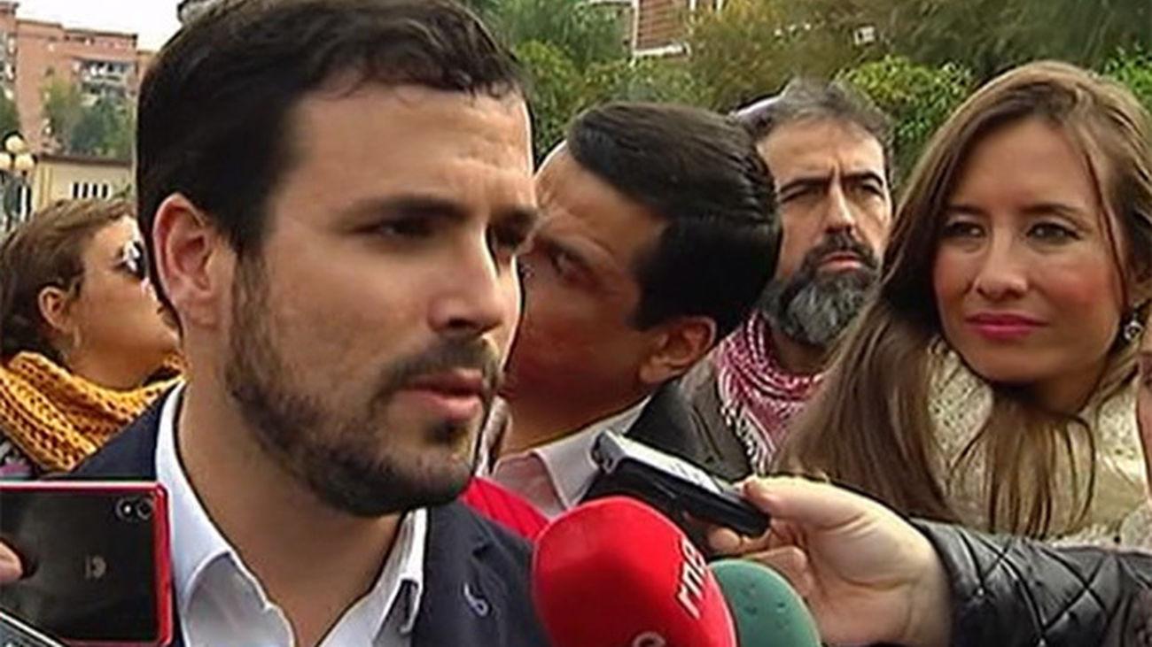 """Garzón advierte de que el debate """"lo perdió  la ciudadanía"""" porque fue """"un robo democrático"""""""