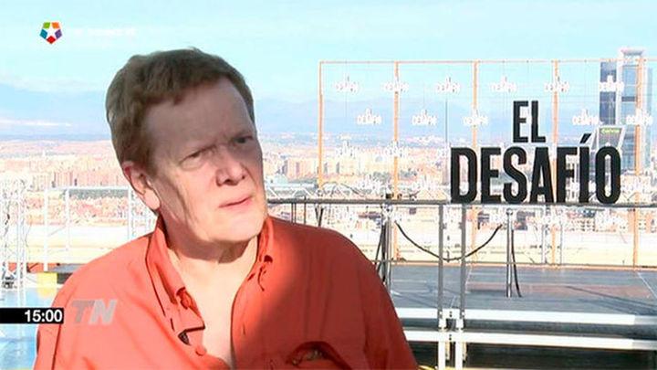 Philippe Petit, el funambulista de las torres gemelas inspira 'El desafío'