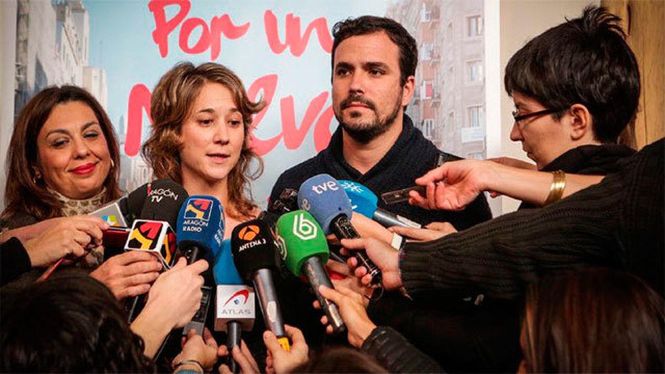 Garzón quiere poner el feminismo en el centro de  la política