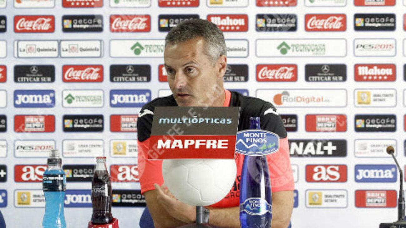 """Escriba: """"Acabaría el año contento con 23 puntos y la clasificación en Copa"""""""
