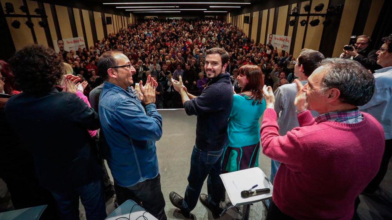 Garzón postula a IU-UP para el voto útil que consolide un grupo parlamentario