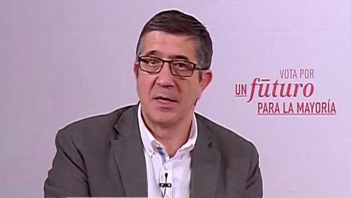 """Patxi López: """"Podemos no puede tener cuatro grupos en el Congreso"""""""
