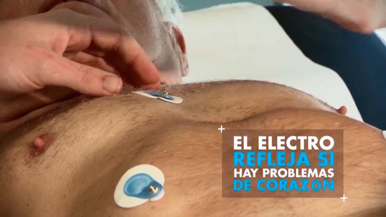 Preparando la San Silvestre: El electrocardiograma