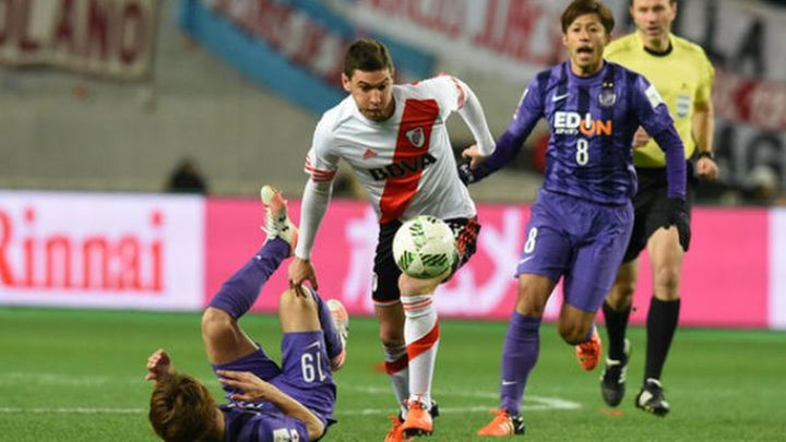 0-1. River Plate vence al Hiroshima y llega a la final del Mundialito