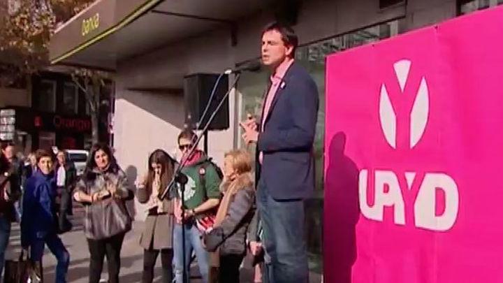 UPyD saca el debate a la calle