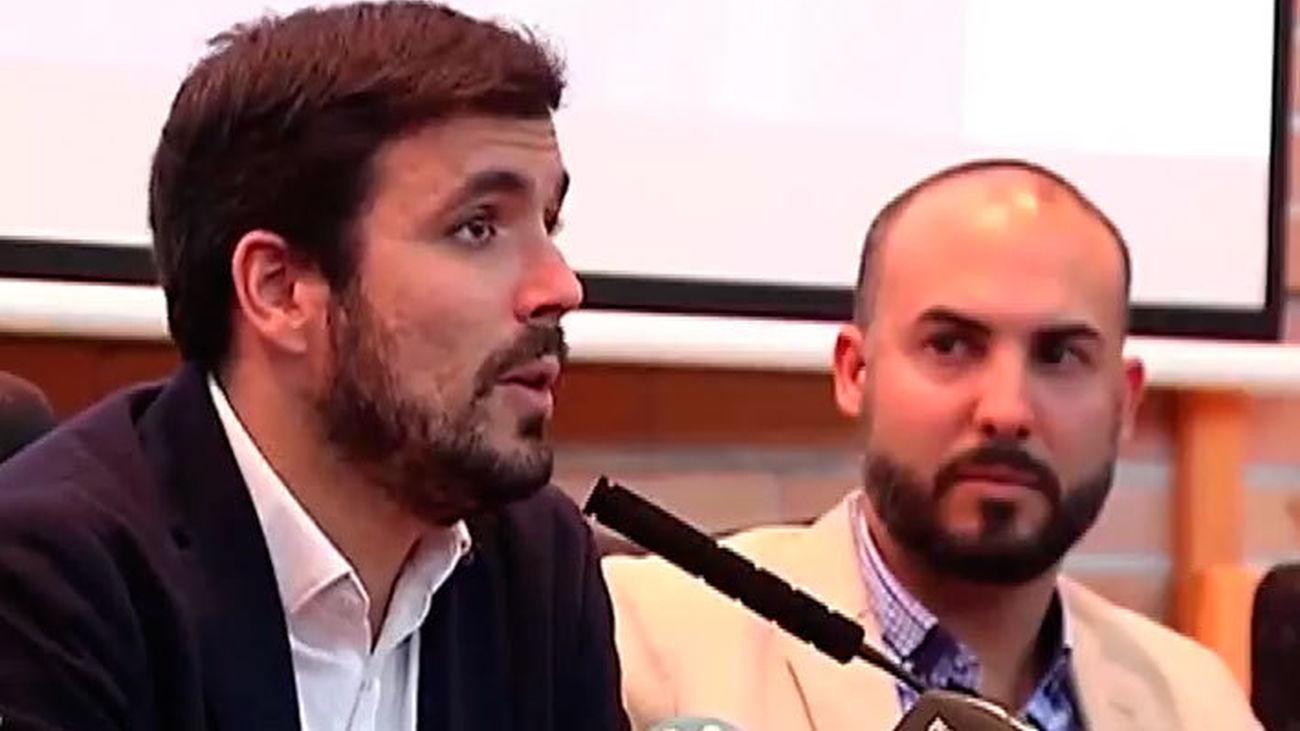 """Garzón apela al voto """"fértil"""" para IU-UP y garantizar un grupo parlamentario """"fuerte y de izquierdas"""""""