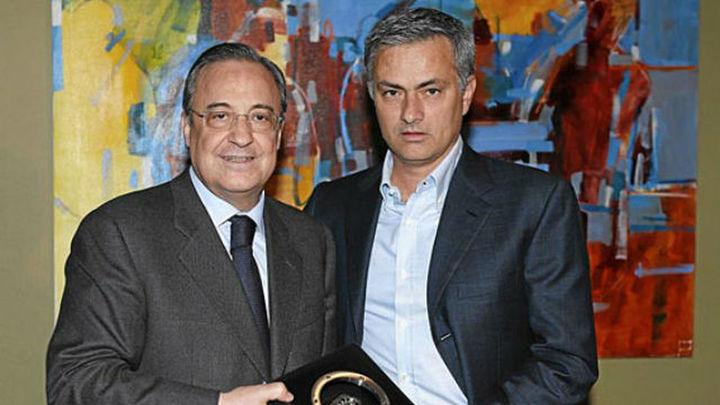 "Florentino: ""Ahora no va a venir Mou, pero no predigo el futuro"""