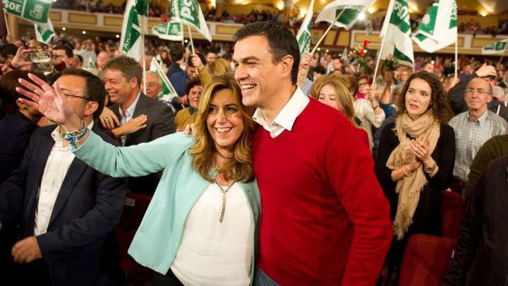 Susana Díaz pedirá el lunes al PSOE que no negocie con Podemos