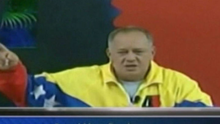 Diosdado Cabello justifica al agresor de Rajoy