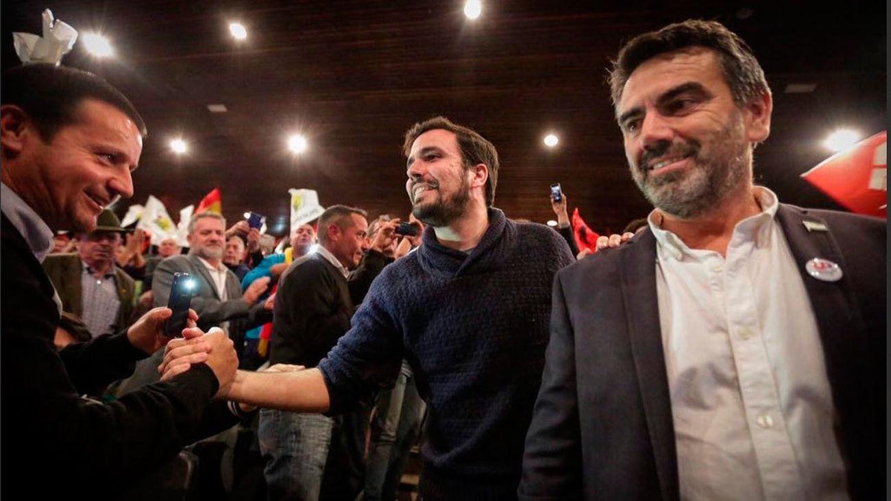 Garzón, seguro de que van a romper las encuestas