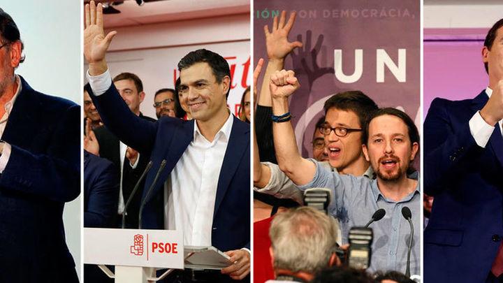 El PP gana las elecciones con 123 escaños pero sin mayoría de gobierno