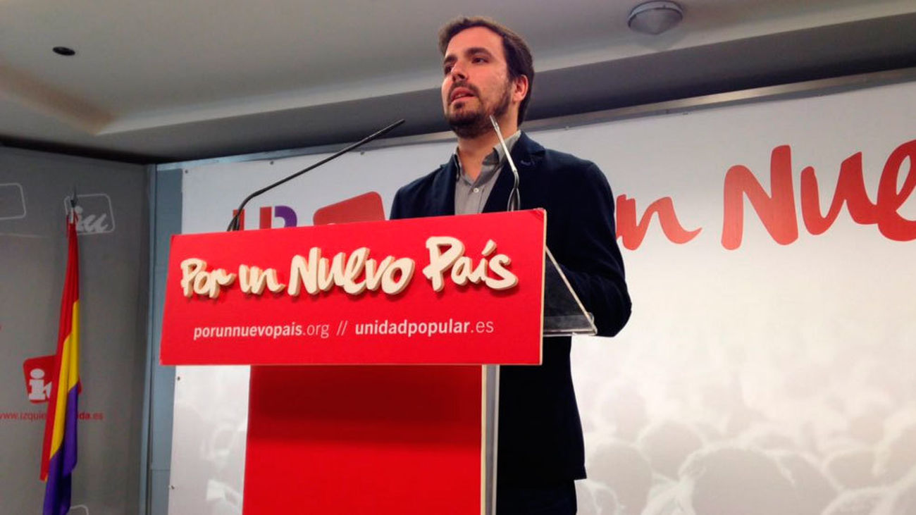 """Garzón explorará """"todas las vías posibles"""" para tener grupo parlamentario"""