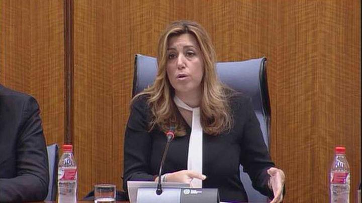 """Susana Díaz reclama un """"no rotundo"""" a la investidura de Rajoy y el PP"""