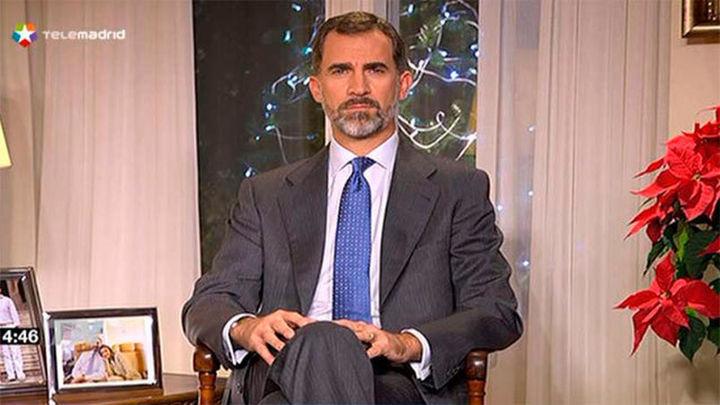 El Rey grabó anoche su discurso de Navidad