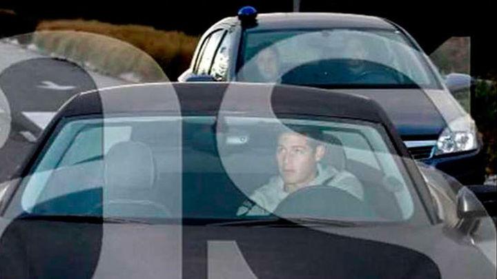 James llegó a Valdebebas perseguido por la Policía por exceso de velocidad