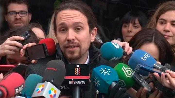 Podemos mantiene como prioridad un referéndum en Cataluña