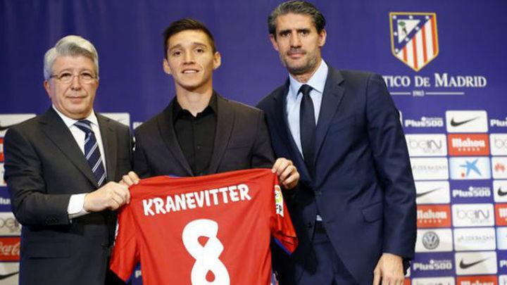 """Kranevitter, presentado en el Atleti: """"Aportaré sacrifico y voluntad"""""""