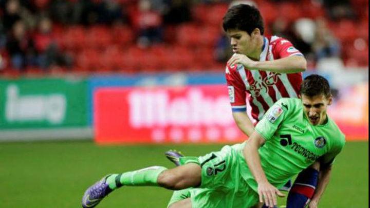 1-2. El Getafe remonta en Gijón y se lleva tres puntos de oro