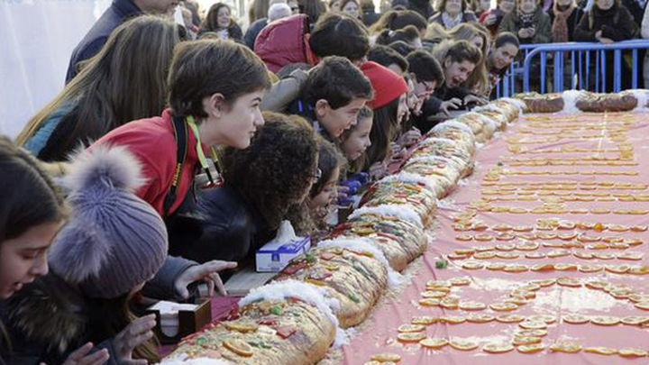 Aldeas Infantiles reparte 10.000 raciones de roscón de Reyes solidario
