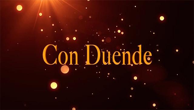 Logo de programa de Con Duende