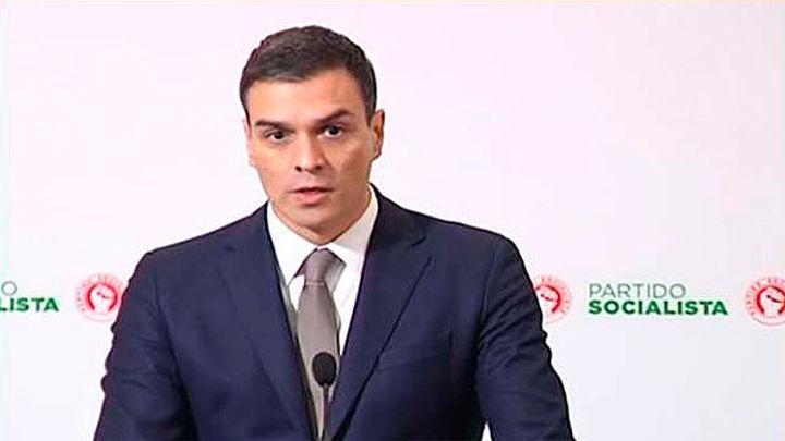 """Sánchez propone una """"gran coalición""""  contra el PP"""