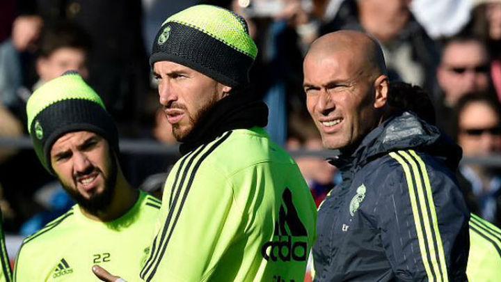 Zidane prueba con Isco y sin James para el Deportivo