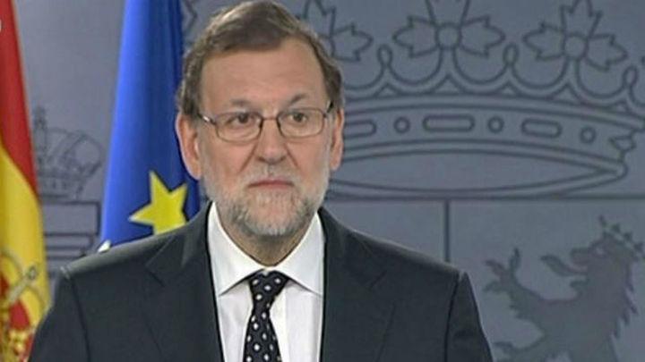 Rajoy promete velar por el cumplimiento de la ley