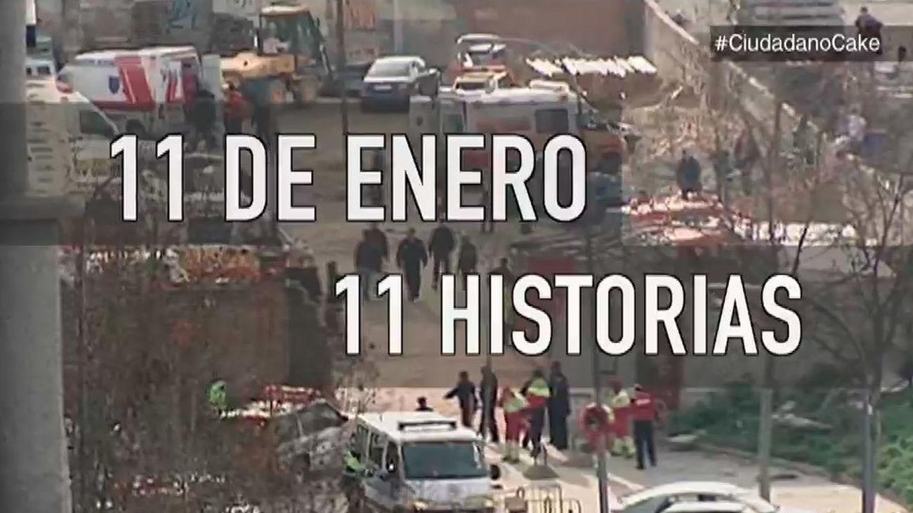 Ciudadano Cake: 11 de enero, 11 historias