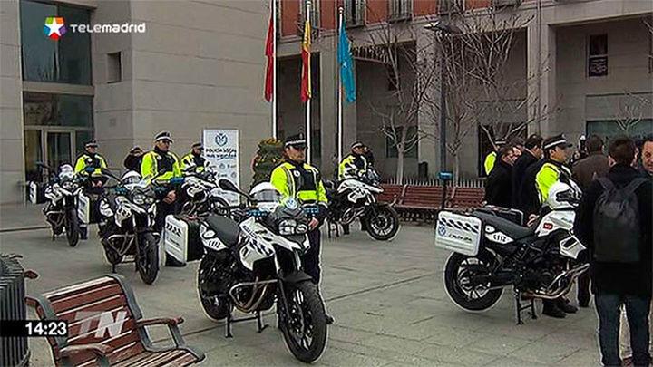 La Comunidad de Madrid dota a la Policía de Leganés de 8 nuevas motos