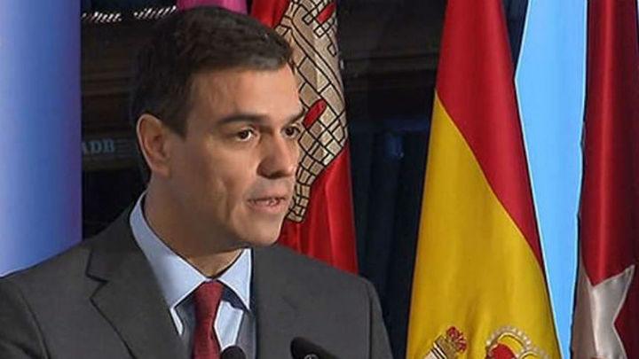 """Sánchez: """"La estabilidad sólo es buena si se utiliza para aplicar políticas para la mayoría"""""""