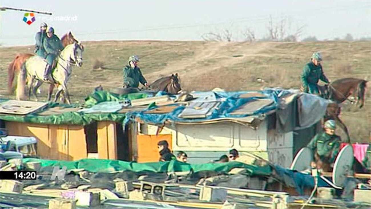 La redada policial en el Gallinero se salda con 30 detenidos y decenas de registros
