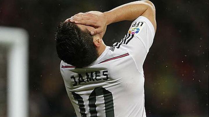 James, primer trabajo psicológico para Zidane