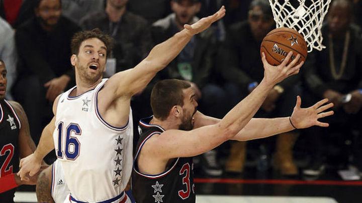 Pau y Marc se quedan fuera del quinteto del All-Star