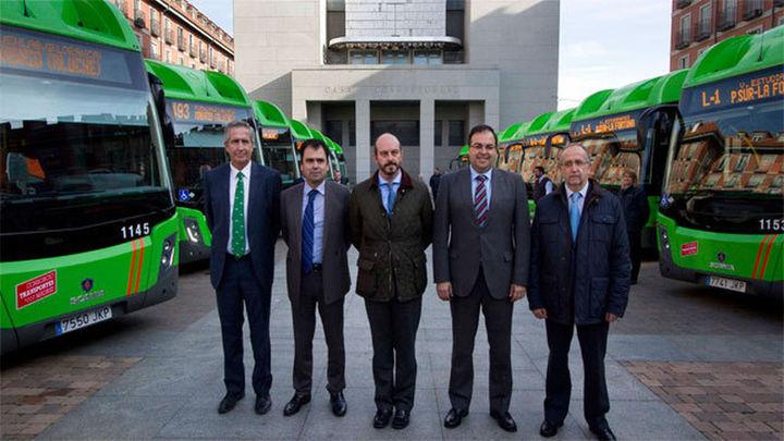 Quince nuevos autobuses de gas natural cubrirán tres líneas interurbanas en Leganés