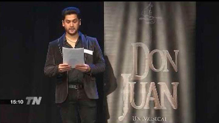 Quinientos candidatos se presentan a las audiciones del musical 'Don Juan'