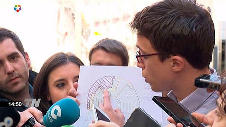 """Podemos quiere colocarse """"en cuña"""" junto al PSOE en el Congreso"""