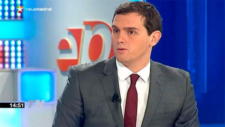 Rivera pide la abstención a PP o PSOE o un gobierno con programa tasado para 2 ó 3 años