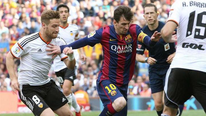 Barça-Valencia y Sevilla-Celta, duelos de semifinales en la Copa