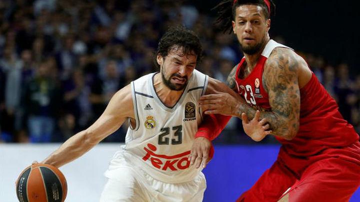 84-72. El Real Madrid doblega al Olympiacos y se aferra a la Euroliga