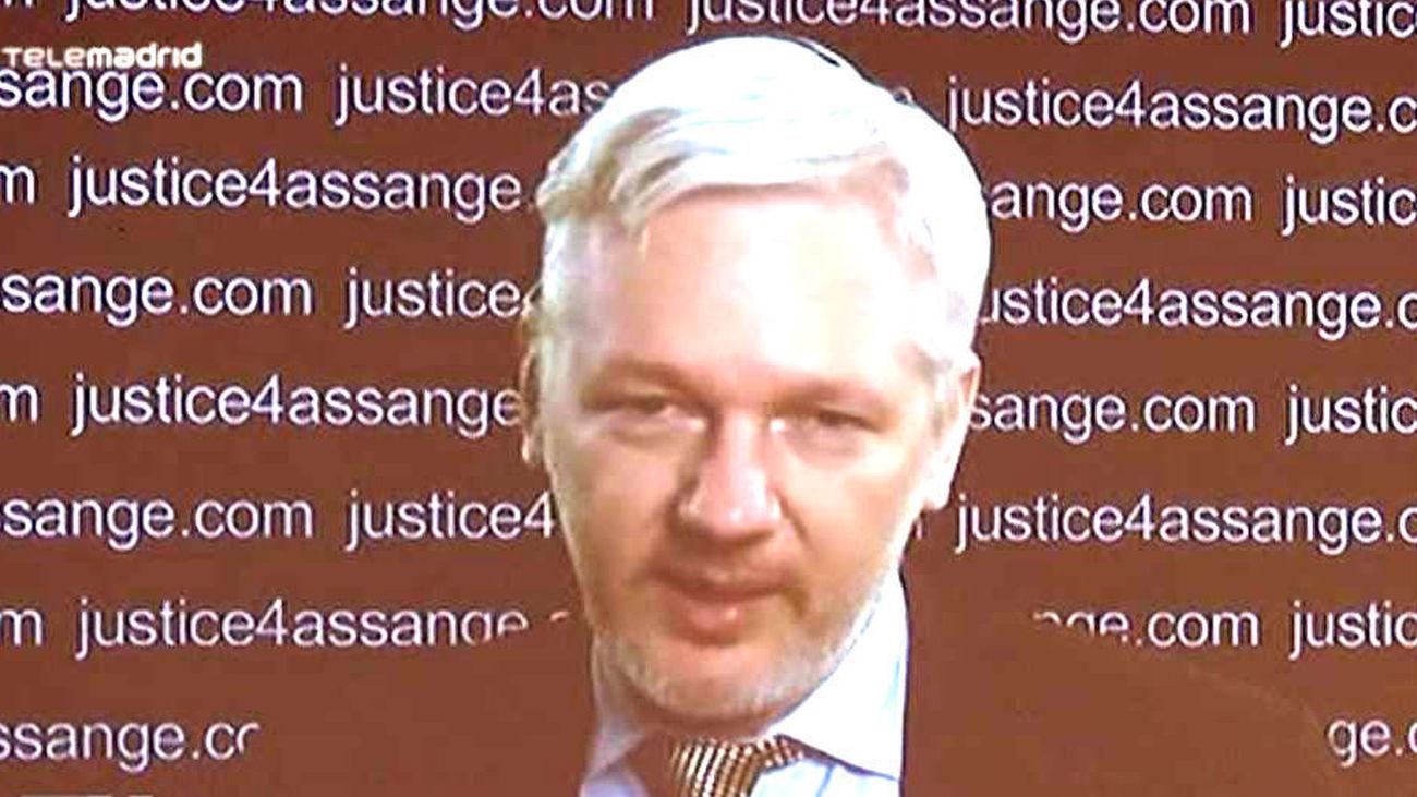 Assange interviene este viernes en Madrid en un evento sobre innovación democrática