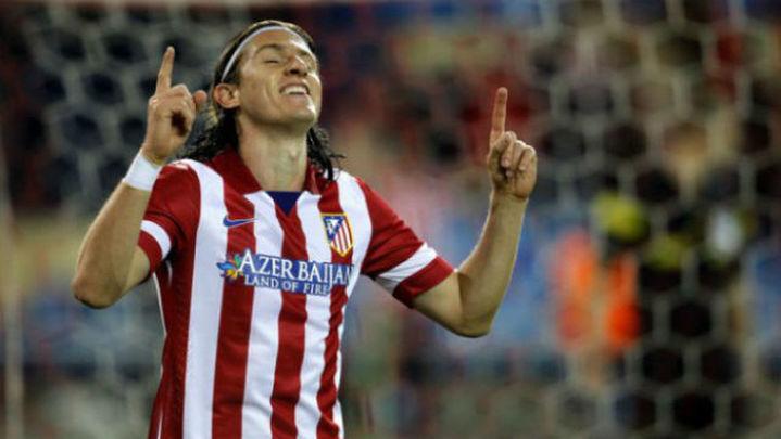 Filipe Luis podría volver ante el Espanyol