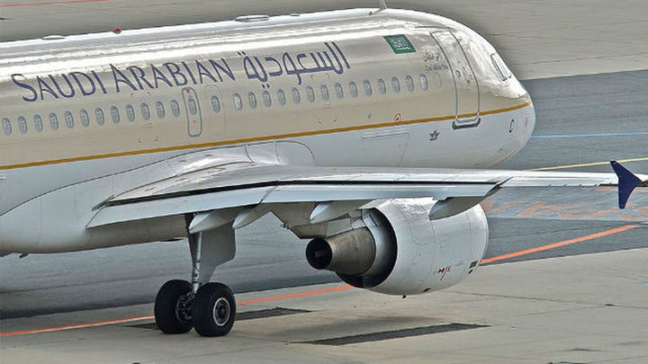 Falsa amenaza de bomba en Barajas en un vuelo de Saudian Arabian Airlines