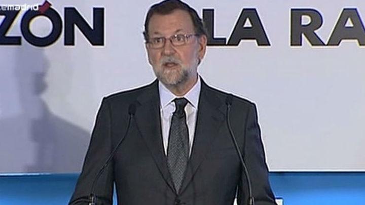 """Rajoy: """"El debate mostrará si Sánchez tiene proyecto o lo suyo es una campaña de imagen"""""""