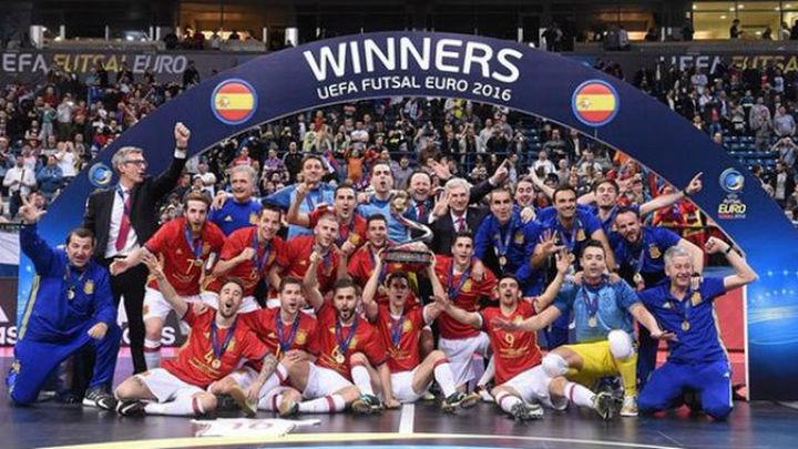 7-3. España, campeón de Europa por séptima vez tras derrotar a Rusia
